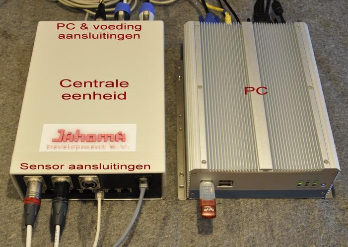 Jahoma PC en Centrale eenheid