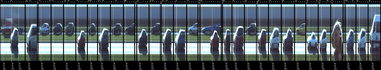 Jahoma Vision Registratie - Een enkele minuten visuele meting van de verkeersintensiteit op een doorgaande weg.